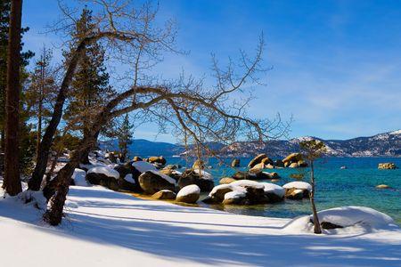 Lake Tahoe in Winter Stock Photo - 6147115