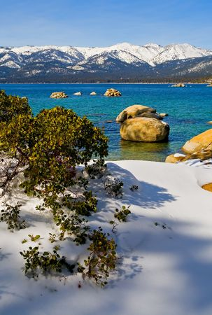 Lake Tahoe in Winter Stock Photo - 6147080