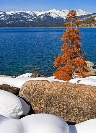 Lake Tahoe in Winter photo