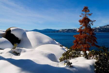 Lake Tahoe in Winter Stock Photo - 6147148