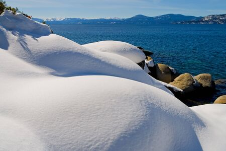 Lake Tahoe in Winter Stock Photo - 6147110