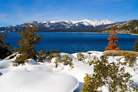 Lake Tahoe in Winter Stock Photo - 6147068