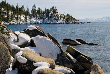 Lake Tahoe in Winter Stock Photo - 6147079