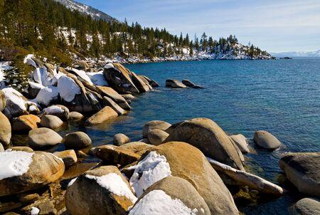 Lake Tahoe in winter Stock Photo - 6147146