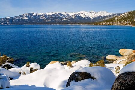 Lake Tahoe in winter Stock Photo - 6147147