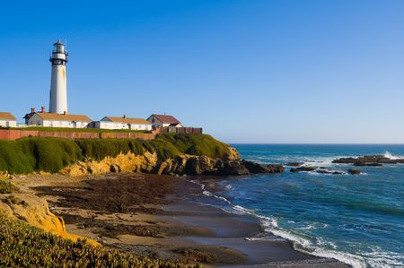 Pigeon Point Lighthouse in California photo