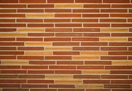 Slim brick wall texture, background 免版税图像