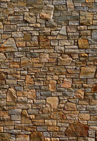yellow stone: Coloridos antiguo muro de piedra textura, fondo