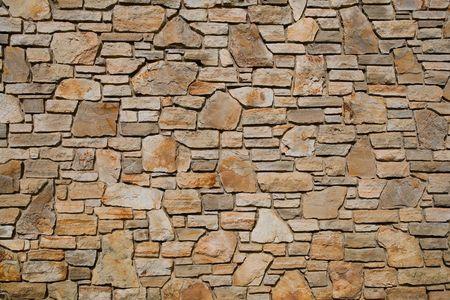 Oude steen wand structuur, achtergrond Stockfoto - 6196310