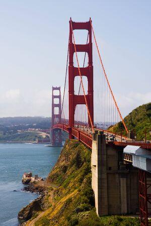 Golden Gate Bridge in San Francisco Banco de Imagens