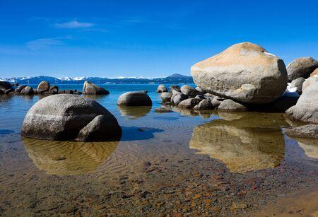 Lake Tahoe in Winter Stock Photo - 6344706