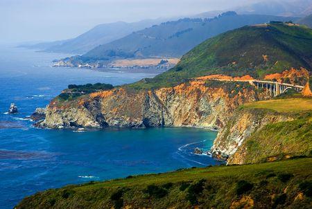 Costa de California de Big Sur