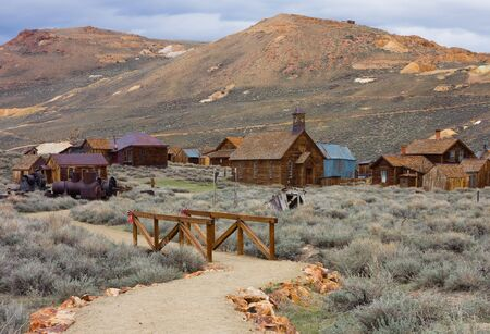 western usa: Bodie (ghost town), California Stock Photo