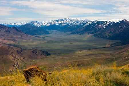 sierra: Eastern Sierra Mountains, California  Stock Photo