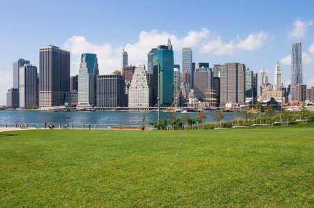 Manhattan skyline, New York City photo