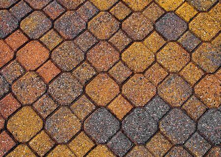 Kleurrijke oude stenen textuur, achtergrond