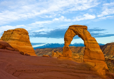 Delicate Arch in Arches National Park, Utah photo