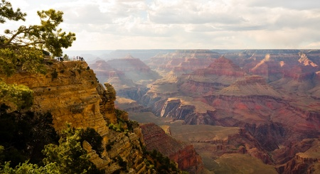 Grand Canyon at sunset photo