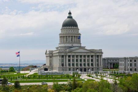 State Capitol Building in Salt Lake City, Utah  photo