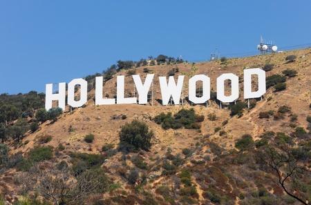 HOLLYWOOD - SEPTEMBER 6: Die Welt berühmten Wahrzeichen Hollywood-Schild am 6. September 2011 in Hollywood, Kalifornien. Als eine Anzeige in 1923 gegründet. Standard-Bild - 10559262