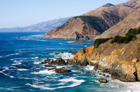 granola: Costa de California Foto de archivo