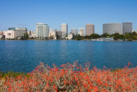 Lake Merritt in Oakland, California photo
