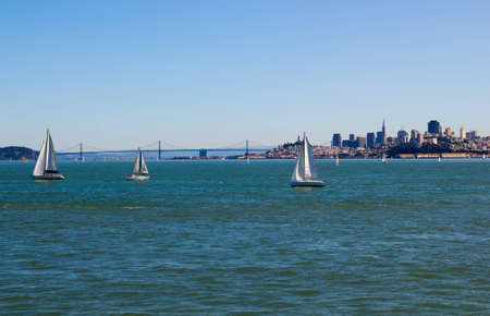 San Francisco on a sunny day photo