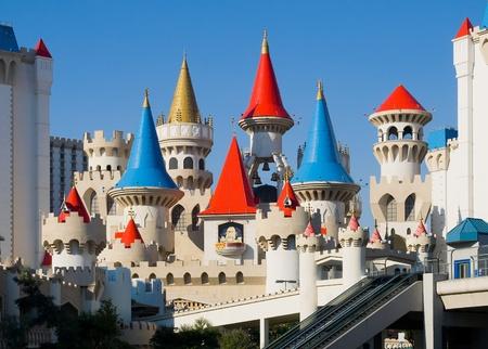 Excalibur Hotel   Casino in Las Vegas Editorial