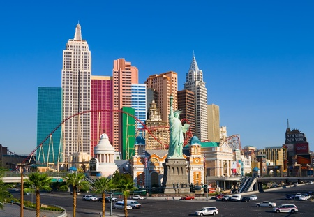 New York New York in Las Vegas  Stock Photo - 13022314