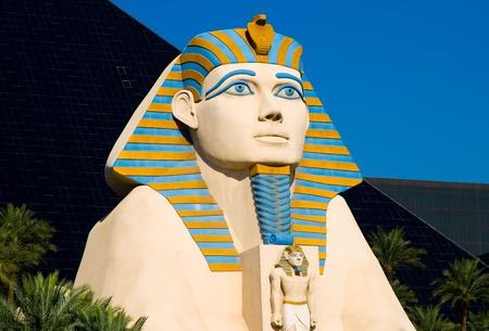 Sphinx in Las Vegas  Stock Photo - 13226013