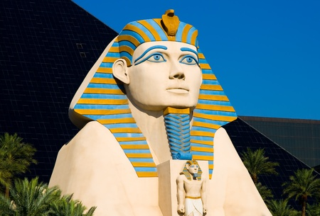 Sphinx in Las Vegas  Stock Photo - 13226013