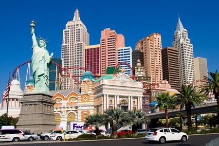 new york strip: New York New York in Las Vegas