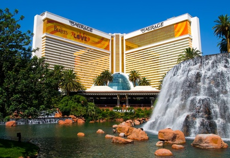 hotel casino: The Mirage Casino Hotel in Las Vegas