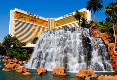 The Mirage Casino Hotel in Las Vegas  Stock Photo - 13117672