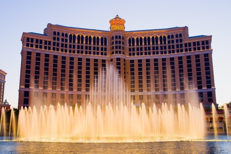 Dancing fountains in Las Vegas Stock Photo - 13182080