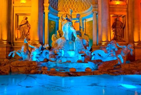 Statues in Las Vegas at night  Stock Photo - 13021103