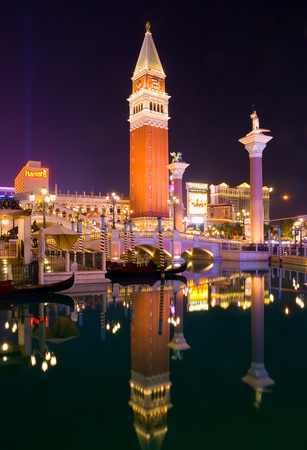 Venetian Las Vegas at night