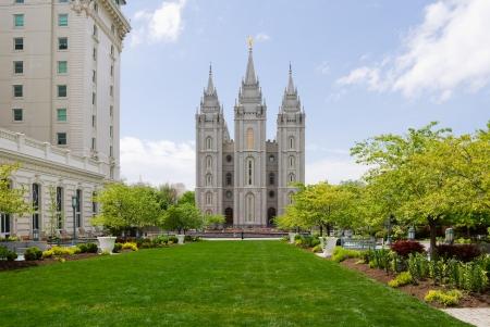 mormon temple: Salt Lake Temple in Salt Lake City, Utah