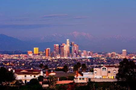 夜のロサンゼルス