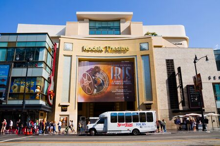 kodak: Kodak Theatre on Hollywood Boulevard in Hollywood