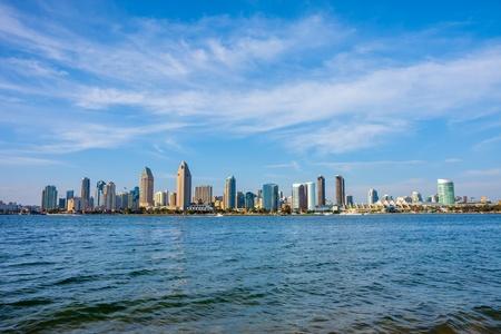 daytime: San Diego California skyline Stock Photo