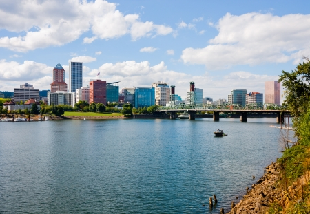 portland oregon: Portland Oregon  Stock Photo
