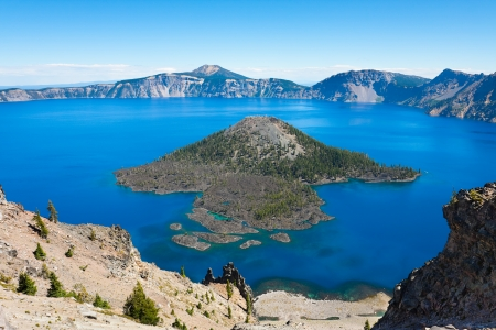 craters: Crater Lake National Park, Oregon