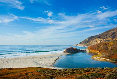 Big Sur de California Foto de archivo
