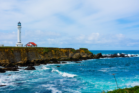 Point Arena Lighthouse in California photo