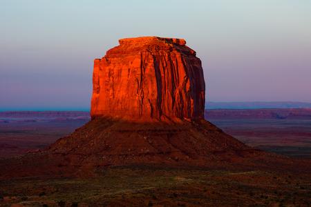 Monument Valley at sunset 版權商用圖片