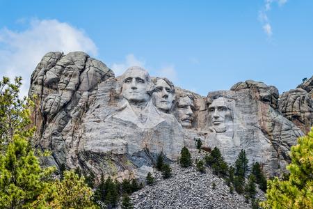 ラシュモア山国立記念碑、サウスダコタ