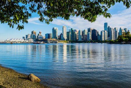 Vancouver skyline, British Columbia, Canada 版權商用圖片
