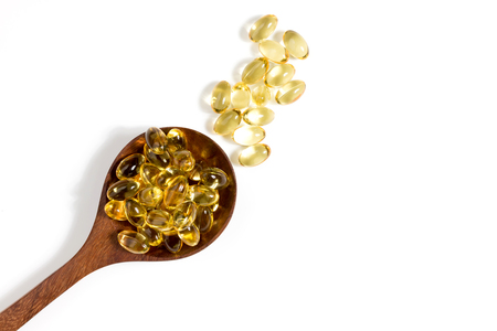 Gesunde Vitamine Ergänzungen Standard-Bild