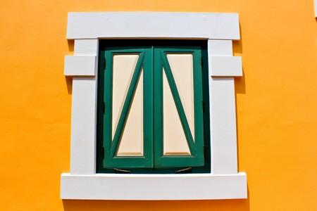 Yellow window photo